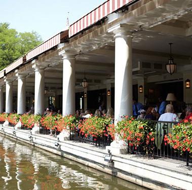The Loeb Boathouse Lakeside