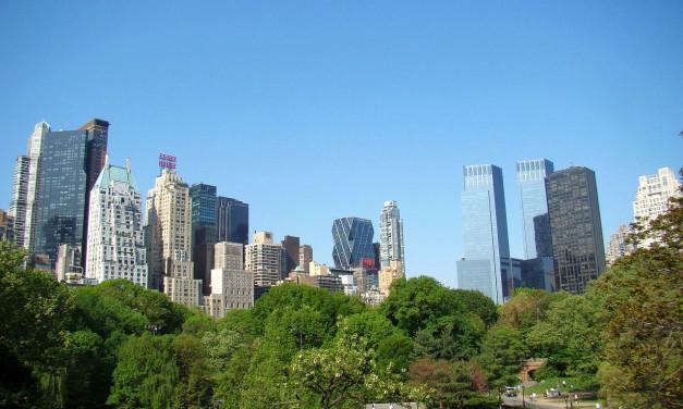Tempo em Nova York
