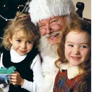SANTA BREAKFAST   –  Café da manhã  com  Papai Noel
