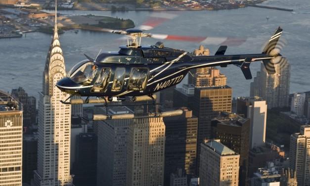 Tour de helicóptero com áudio em Português