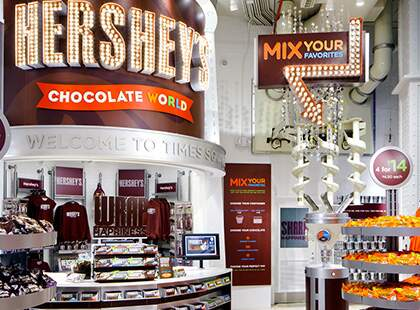 Hersheys  Times  Square