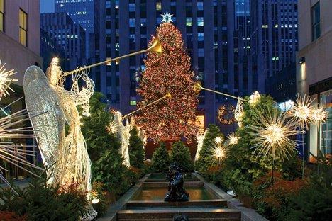 A maior árvore de Natal do mundo!!!
