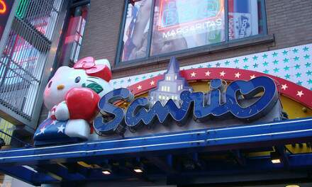 Sanrio ( Aka Hello Kitty Store)