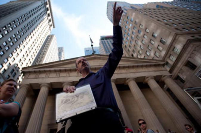 Tour à pé por Wall Street